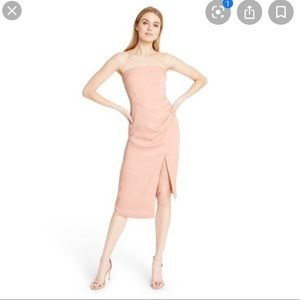 NWT Strapless Side-Slit Dress CUSHNIE for Target